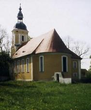 Ort und Umgebung der Schule Barockkirche Börln